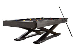 X Industrial Pool Table