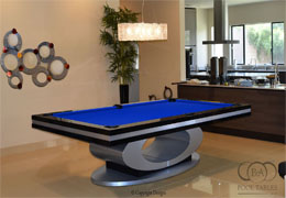 Oval Pool Tables
