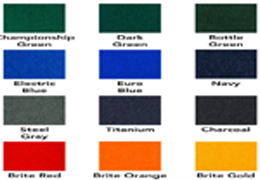 Billiards Cloth Colors