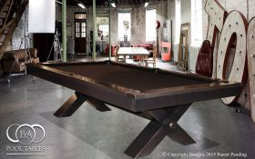 Industrial Pool Tables Black