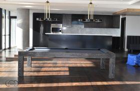 Bellagio Pool Table Black Wash