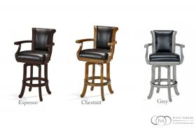 Heritage Wood Back Barstool Brunswick