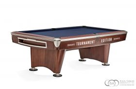 Gold Crown Pool Table Walnut