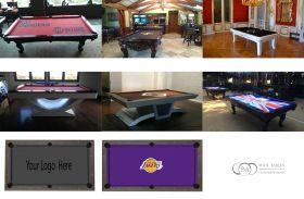 Pool table Custom Felt