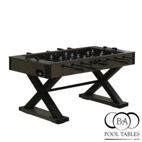 X Foosball Table Dark Oak