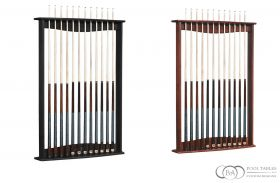 Gold Crown Wall Cue Rack Brunswick