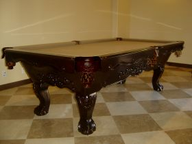 LAREDO CHERRY POOL TABLE : POOL TABLES