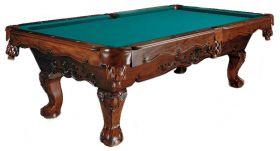 LAREDO MAHOGANY POOL TABLE : POOL TABLES