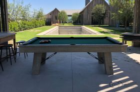 Rustic Pool Table Benchwright