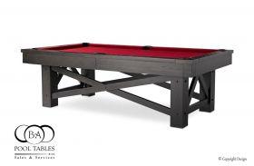 Rustic Pool Table, Bridge