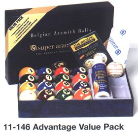 Aramith Advance Value Pack Ball Set
