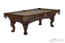 Glenwood Pool Table Ball and Claw Espresso