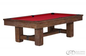 Brunswick Merrimack Pool Table Nutmeg Finish