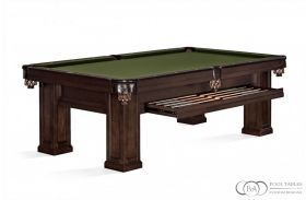 Brunswick Oakland Pool Table Espresso with Drawer