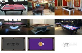 Pool table Custom Felt