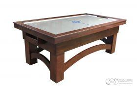 Arch air hockey table