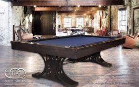 Industrial Pool Tables Black
