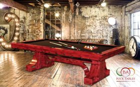 Industrial Pool Tables Red