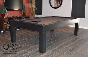 MODERN POOL TABLE EBONY