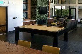 MODERN POOL TABLES WALNUT