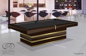 Modern Pool Tables, Hermosa Macassar