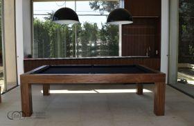 Modern Pool Table Walnut