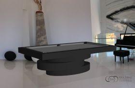 Modern Pool Table Olympic Black