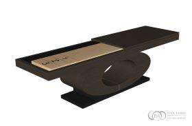 Oval Shuffleboard Table