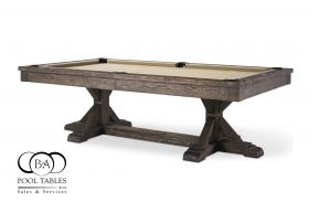 Rustic Pool Table, Forest