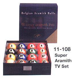 Super Aramith  TV Ball Set