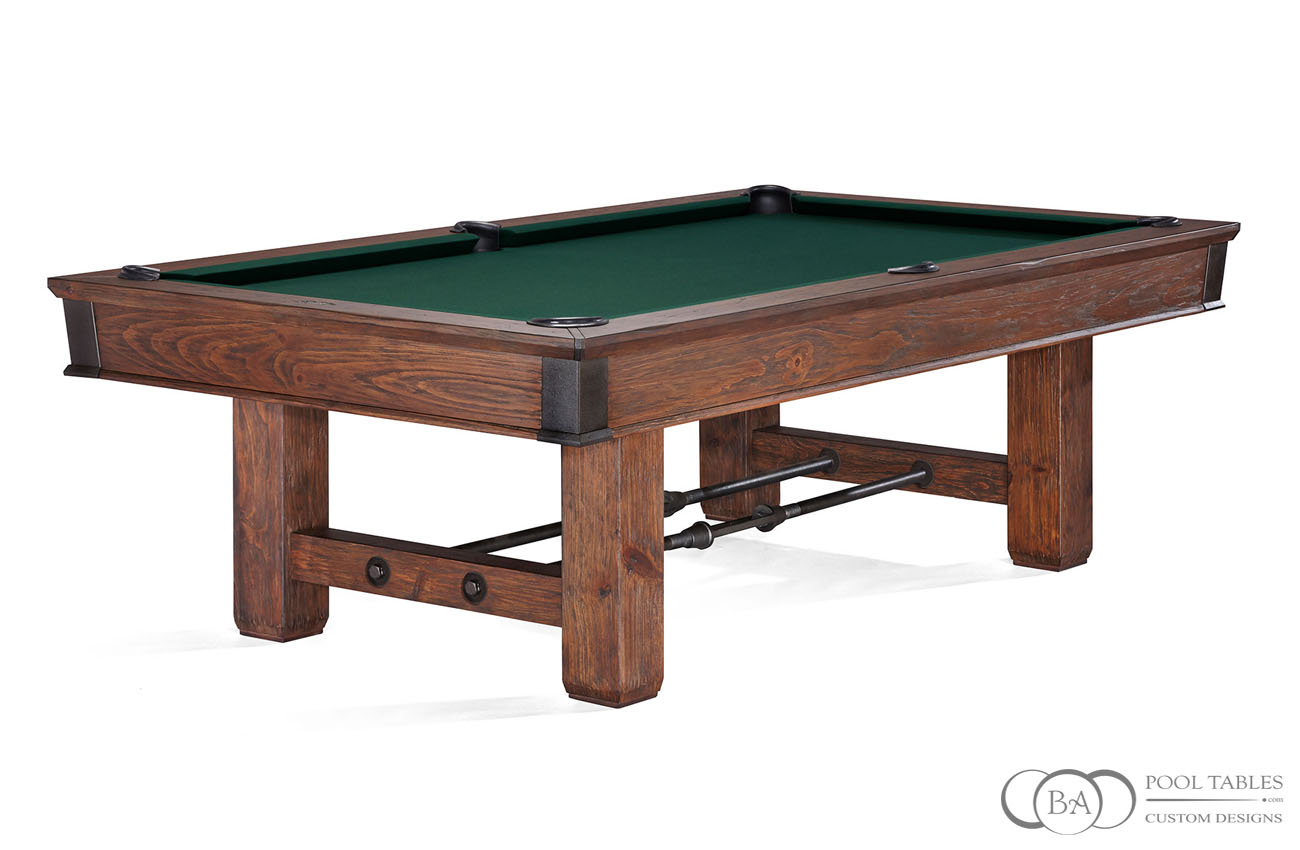 Canton Rustic Pool Table