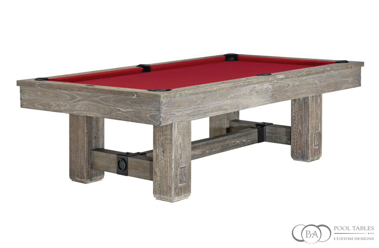 Merrimack Rustic Pool Table