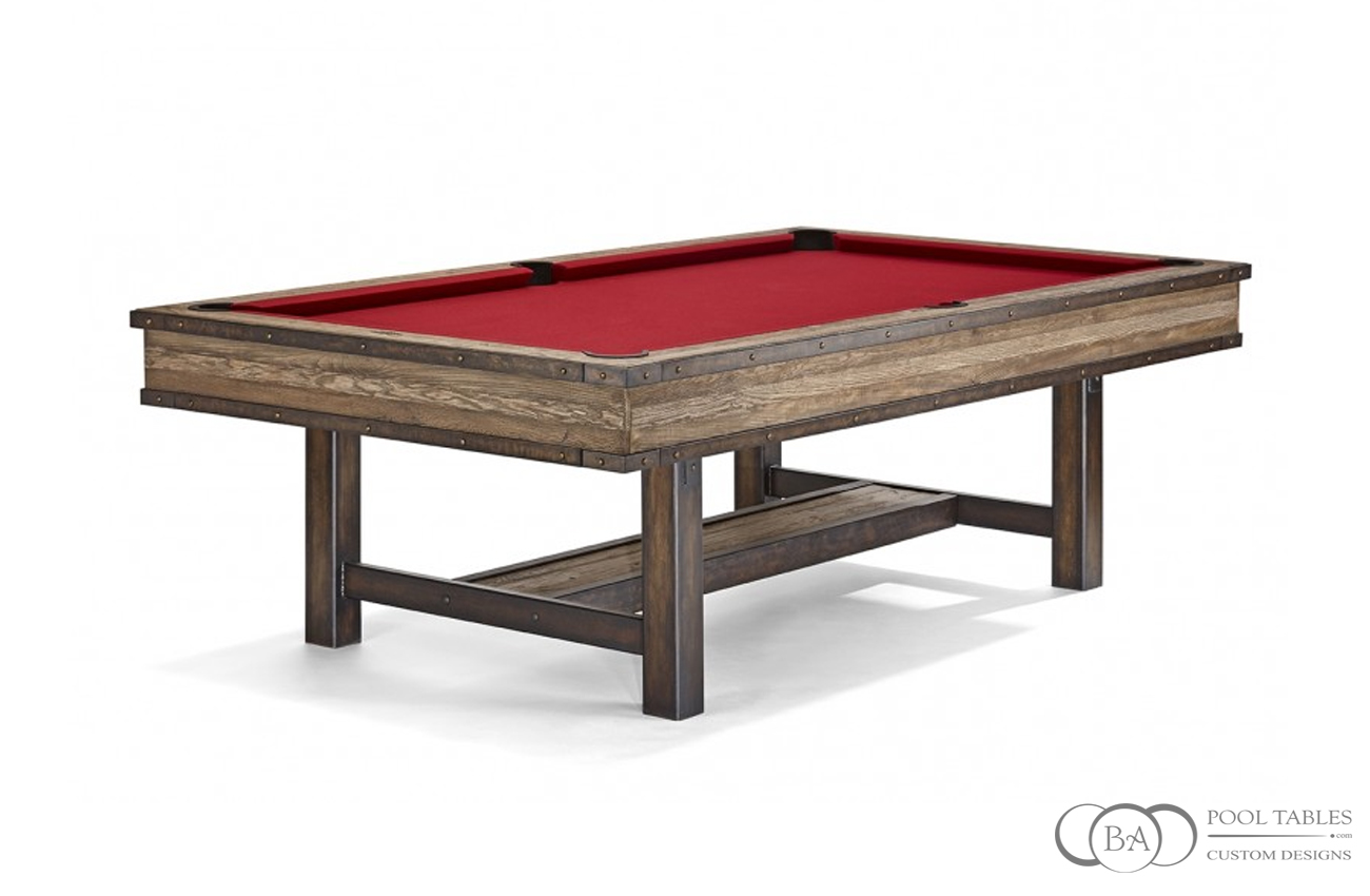 Edinburgh Rustic Pool Table