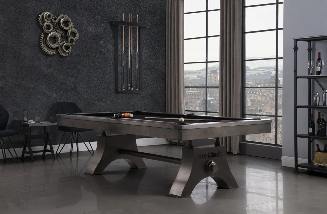 San Francisco Industrial Pool Table