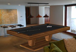 Provocative Modern Pool Table